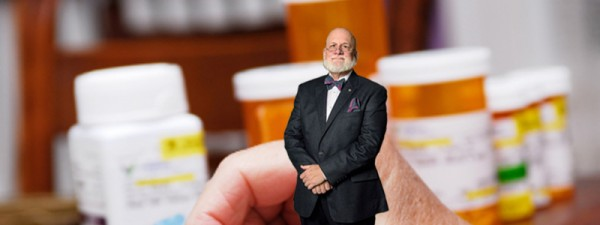 Larry Frieders was watching you take drugs.
